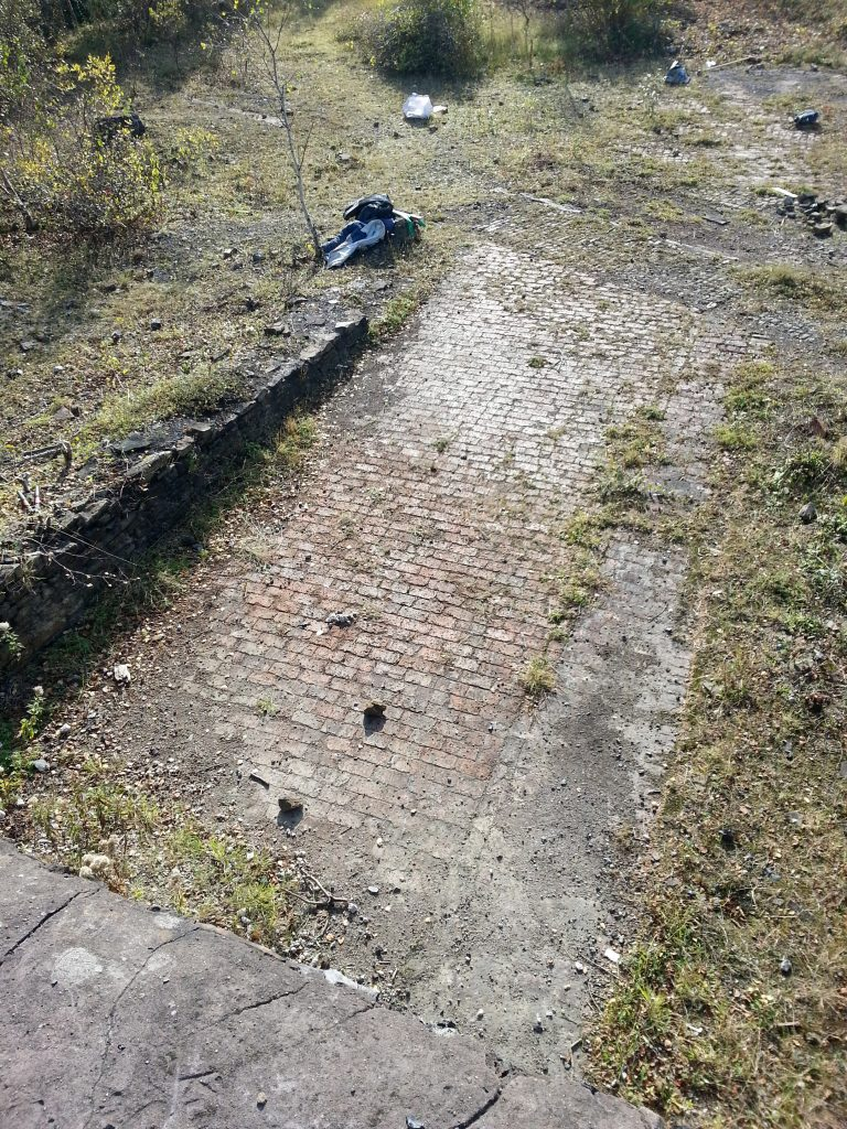 Brick floor and or roof (1)