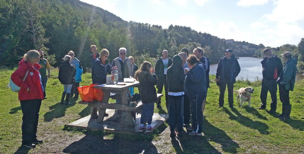 Geocachers tea break September 2016