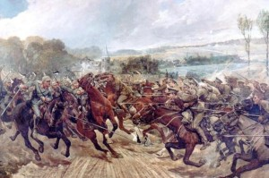 9th Lancers charge, 7 September 1914